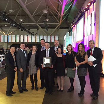 Hatch team presented with the outstanding Corporation Award