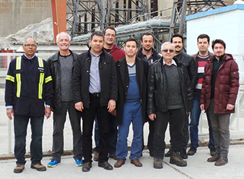 Gokcekaya Power Plant team