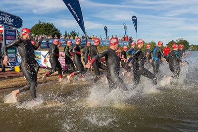 Suffolk's annual sporting events, like the the Great East Swim, generate an estimated £¾ million to the county annually.