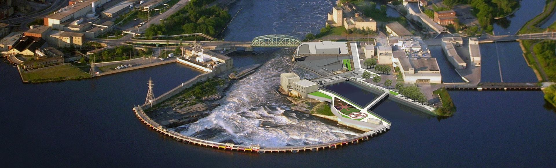Hatch Chaudiere Falls Hydroelectric Redevelopment Project