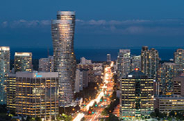 Mississauga skyline, image courtesy of the City of Mississauga.
