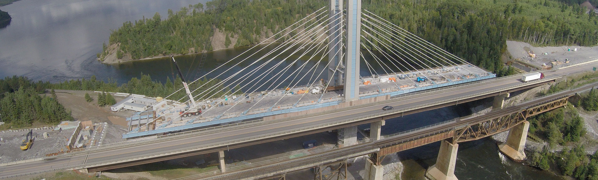 Nipigon River Bridge Construction