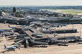 YVR's Pier C Expansion involved relocating Taxiway J to provide room for the Pier C terminal and apron stand expansion.