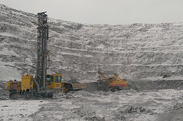 Blagadatnoye Mine Site, Russia and Olympiada processing plant, Russia