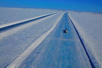 Ice roads. Bears. Blizzards